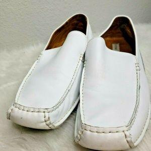 Steve Madden Men's P-Nevell Slip on Leather Loafer